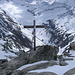 Gipfelkreuz des Klein Furkahorn 3026m
