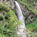 La cascata di Feichten.