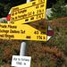 Start der Tour auf der Alp da Schlans