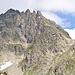 Wer sucht, der findet den Einstieg über der unteren Bildmitte beim Gipfelmarker.