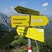 Abzweig zum Weißbachsattel