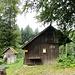 Am Aussichtspunkt Chroobachhütte auf Schweizer Territorium
