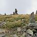 Das Gipfelplateau. Das wäre ein netter Berg, um mal den Biwaksack mitzunehmen und oben zu übernachten.