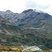 Der Piz dals Lejs den ich über die steile Flanke rechts bestieg als es auf die Grattour ging, vor zwei Jahren.