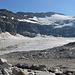 Die traurigen Reste, die vom Mölltaler Gletscher/ Wurtenkees übrig geblieben sind.