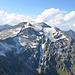 Blick nach Westen zum noch etwas höherem Nachbarn, dem Hocharn (3.254 m).