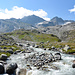 Blick in Talboden, in dem sich der Tauerngoldweg befindet. Dort kann man historische Bergbauhinterlassenschaften und Gletscherlandschaften besichtigen.