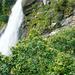 Der Wasserfall von Foroglio im Herbst
