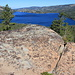 First overlook to Caples Lake