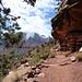 Aufstieg am Watchman Trail
