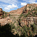 Blick Richtung Osten am Pine Creek Canyon