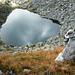 Lago Pero 2393m im Val Rovana von der Bocchetta d'Orsalia
