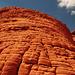 Typische Erosionsform des Sandsteins