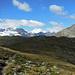 Im Zentrum der Piz Bernina mit Biancograt, mal aus einer anderen Perspektive.