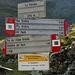 Hier an der Forcola di Livigno geht's los. Die Markierung der Wanderwege in der Gegend ist mustergültig gut und - was meine Route zum Al Vach angeht - besser gemacht als Manches, das ich in der Schweiz kenne.