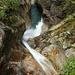 La cascata sotto il ponte nei pressi dell'Alpe di Ripiano (foto scattata dal ponte)