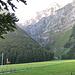 Start bei Hinter Saggberg auf 1053m