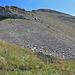 Von dieser Seite nicht gerade eine Schönheit von einem Berg. Der Vorderglärnisch - hier im Abstieg fotografiert.