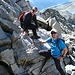due amici da Lucerna (two friends from Luzern, thank you for the information to reach the summit))