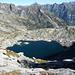 Abstieg ins Calnegia - der obere Lago Formazzöö 2251m
