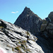 Btta di Formazzöö mit dem imposanten Gipfel 2781m des Strahlbann