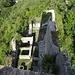 Blick auf die Burganlage