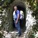 Kurzer Tunnel in der Schlucht