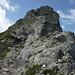 Hindelanger Klettersteig: Rückblick auf die Gratschneide