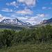 Über den Sattel in der Bildmitte führt der Weg zur Vaimok-Hütte