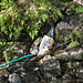 ... vorbei bei der Fassung des Trinkwassers