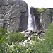 cascata salendo verso Rifugio Margaroli