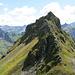Der Fuggstock Nordgrat war mir im Abstieg und mit schwerem Gepäck zu heikel, im Aufstieg sicher ein Leckerbissen.