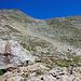 Im oberen Teil des Aufstiegs meist solches Gelände. Wenn der Grat erreicht ist, hat man's fast.