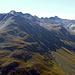 Der Blick hinter mich zeigt mir aus Distanz, wo ich zum Monte Vago/Al Vach aufgestiegen bin, vor ein paar Tagen.