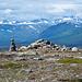 Blick in die Gipfelwelt des Tarradalen