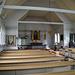 Typisch schwedisches Kirchen-Interieur