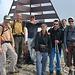 Auf dem Colonney. Edy, Denis, Mark, Cathy, Fred, Heinz und Jean-Pierre
