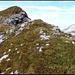 Nach fünf Stunden Aufstieg (allerdings inkl. gemütlicher Apfelwähenpause in der Rugghubelhütte): Letzte Meter zum Gipfel.