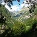 Das Val Vegorness ist ein typisches U-Tal. Also ging hier ein Gletscher hindurch