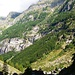 Val Vegorness - Cabioi. Rechts hoch gehts zur Capanna Cognora