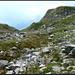 Abstieg, vor der Steilstufe Ob. Chüeboden.