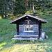 Aussichtsplatz mit Chrüppel-Hütte