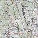 Die Route lässt sich auf der Karte leicht nachvollziehen