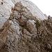 Weiterweg über Felsen