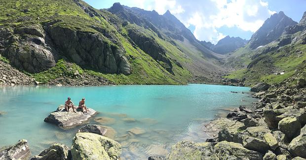 alpine cooling!