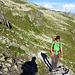 Aufstieg zur Sidelenhütte