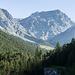 Im Val Sesvenna mit Blick auf Piz d'Immez