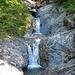 Kleiner Wasserfall nach der Hornbergalpe