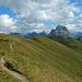 Sanftmütig gibt sich der Kamm der Üntschenspitze.