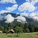 Blick von der Alp Innerschneit zur Schynige Platte rüber